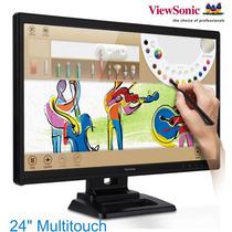 Monitor Táctil 24 Viewsonic Td2420 Hdmi Dvi Vga Con Pluma Y