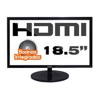 Monitor Led 19 Pulgadas Slim Hdmi Vga Bocinas
