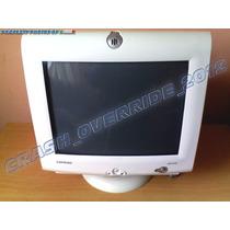 Monitor Compaq Blanco Modelo Mv540 Tipo Crt De 15