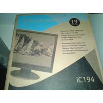 Monitor 19 Lcd Ic 194 Sxga 1280x1024 Como Nuevo Oficina