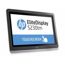 Monitor Touchscreen 23 Hp S230tm C/bocinas Webcam Microfono