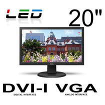Monitor Led 20 Pulgadas Benq Dvi Vga Hd 720p