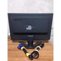 Monitor Lcd Marca Acer Modelo X193w 19 Pulgadas