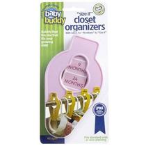 Bebé Buddy Tamaño-it Los Organizadores Pink Closet
