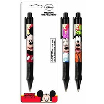 Mickey Plumas Grip 1 Pack De Color Variará (4128a)