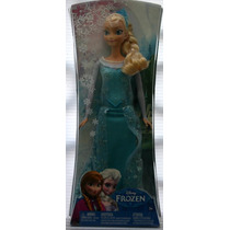 Elsa Princesa De Frozen Muñeca Original