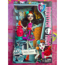 Monster High Skelita Calaveras Clase De Arte