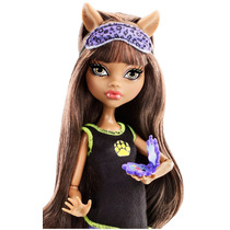 Monster High Clawdeen Wolf Pijama De Miedo 2