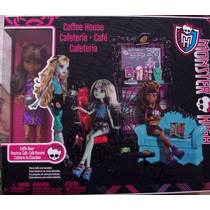 Monster High - Coffee House + Clawdeen Wolf