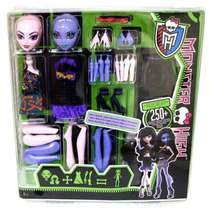 Monster High Crea Tu Vampira Y Monstruo Marino Set Grande