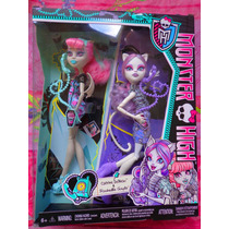 Monster High Set De Munecas Catrine Y Rochelle