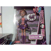 Monster High Clawden Wolf Mascota Diario Nueva