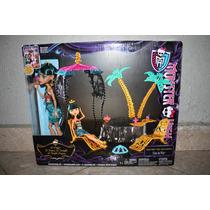 Cleo De Nile 13 Deseos, Con Oasis, Monster High -original