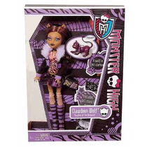 Monster High Clawdeen Reedicion 2012 Evio Gratis