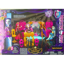 Monster High Set De Spectra Vondergeist Muneca Y Mobiliario