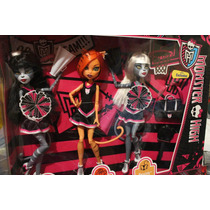 Paquete Monster High Gatas Porristas