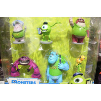 Set De Figuras De Monster University