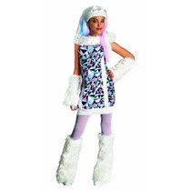 Monster High Abbey Bominable Traje - Large