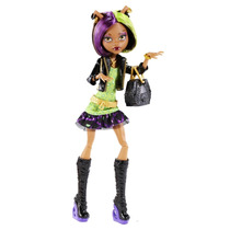 Clawdeen Wolf Monster High Muñeca
