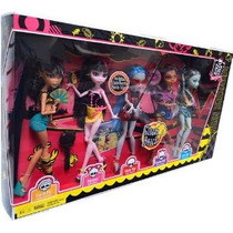 Monster High Gloom Beach Doll 5pack Cleo De Nile Draculaura