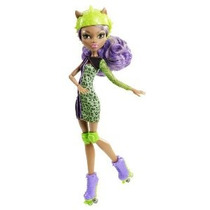 Monster High Roller Maze Skultimate Doll 12 - Clawdeen Lobo