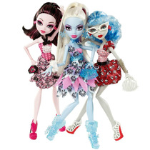 Monster High Draculaura, Abbey, Ghoulia 3 Pack Mattel Vbf