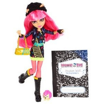 Monster High 13 Deseos Howleen Lobo