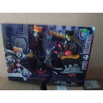 Monster High Wheelin Scooter Werecats Meowlody & Purrsephone
