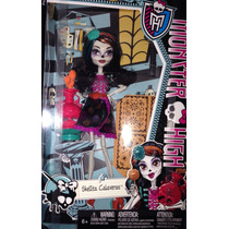 Muñeca Monster High Skelita Clase De Arte Nueva Sellada