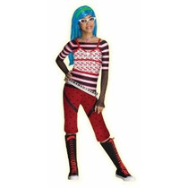Monster High Ghoulia Aullidos Traje - Large