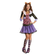 Secret Wishes Monster High Deluxe Adult Costume Clawdeen Lob