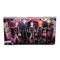 Monster High O R I G I N A L !! 5 Muñecas Monstruo Compras