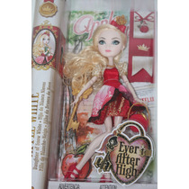 Ever After High, Apple White- Hija De Blanca Nieves Original
