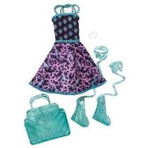 Monster High Lagoona Blue Básica Moda Paquete