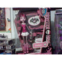 Monster High Draculaura Mascota Diario Nueva