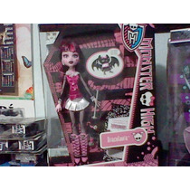 Monster High Draculaura Mascota Diario Nueva