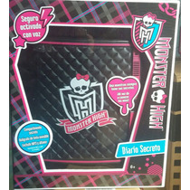 Diario Secreto Monster High. Electrónico Se Abre Con Tu Voz.