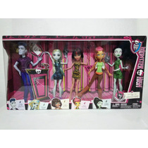 Monster High 5 Pack Consejo Sloman Gilda Scarah Cleo Lagoona