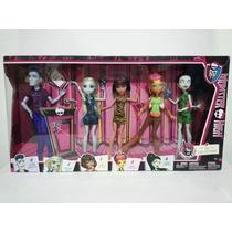 Monster High 5 Pack Consejo Sloman Gilda Scarah Cleo Lagoona