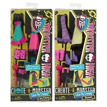 Regalos Maven: Monster High Create-a-monster Hombre Lobo Add