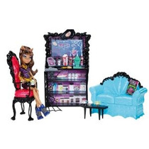 Monster High Ataúd Bean Y Clawdeen Lobo Doll Playset