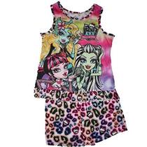 Monster High Shorts Pijamas Set