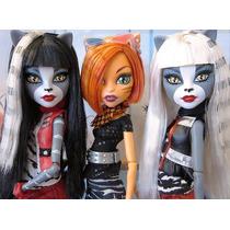 Monster High Toralei Purrsephone Meowlody Gatitas Porristas