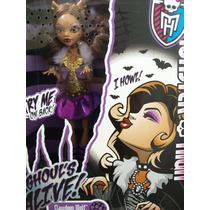 Monster High Clawdeen Wolf Ghouls Alive Muñeca