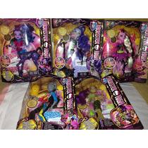 Paquete Monster High Fusión Espeluznante 5 Muñecas Nuevas