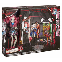 Monster High Rochelle Goyle Circo Monstruoso Nuevo Freak Du