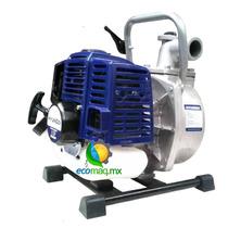 Motobomba De Agua A Gasolina Hyundai Portatil 1 Ecomaqmx