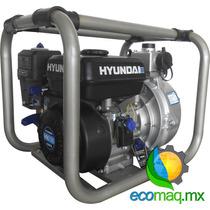 Motobomba Alta Presion Hyundai 6.7hp 2 Pulg P/ 50mt Ecomaqmx