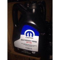 Aceite Para Motor Mopar 20w 50 5lt. 5114226aa