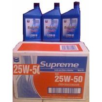 Aceite Chevron 25w-50 Altokmtrage Caja De 12 Litros